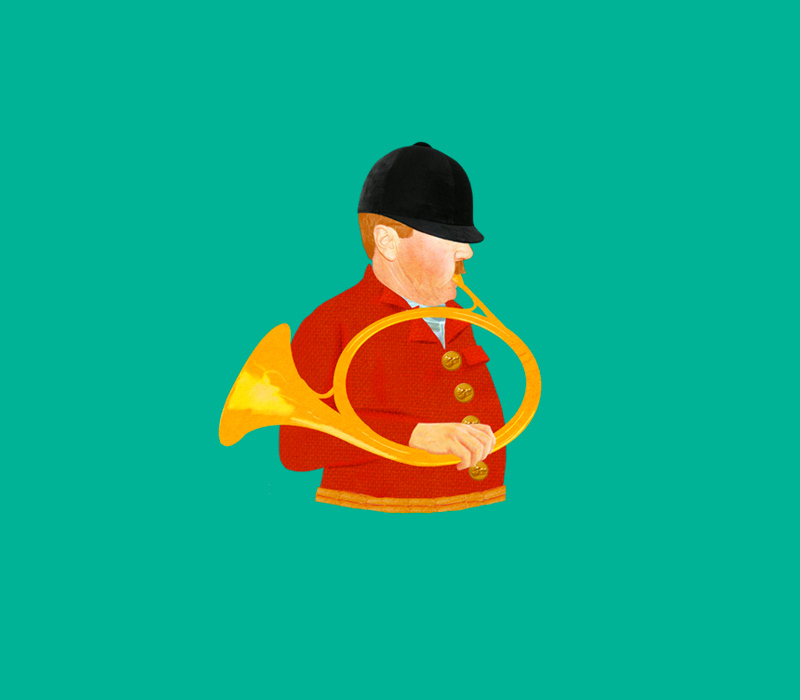 La chasse à courre – Karambolage