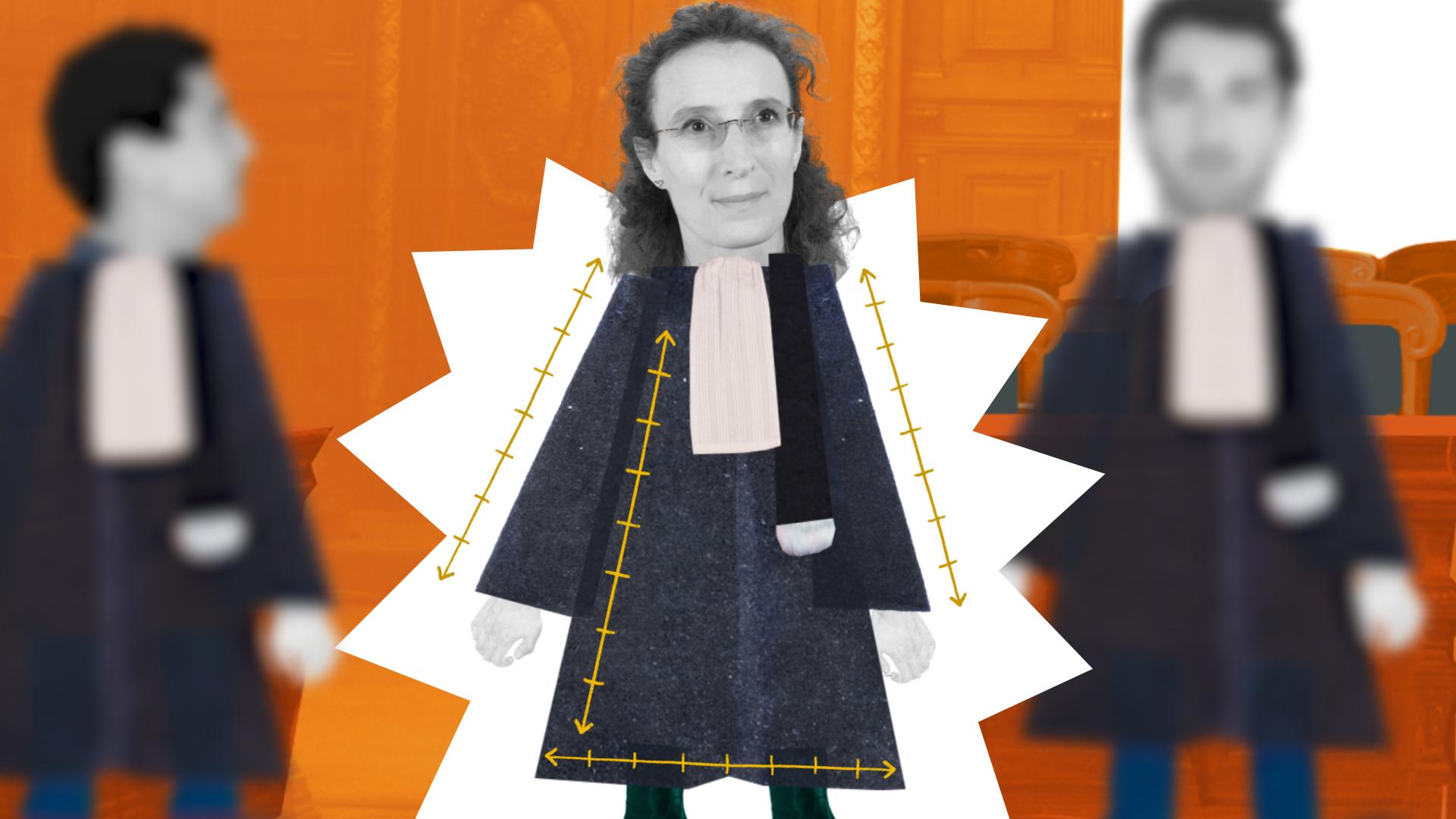 La robe d'avocat